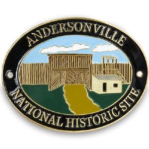Andersonville NHS Hiking Stick Medallion