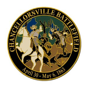 Chancellorsville Battlefield Hiking Stick Medallion