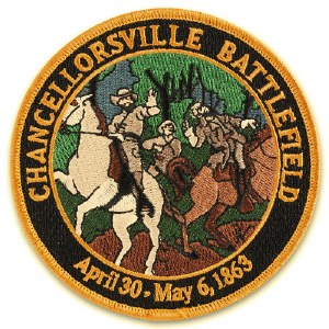Chancellorsville Battlefield Embroidered Patch