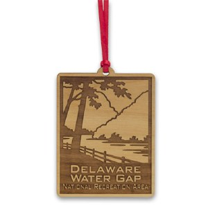 Delaware Water Gap Wooden Ornament