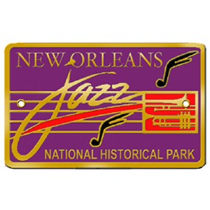 New Orleans Jazz National Historical Park Hiking Stick Medallion