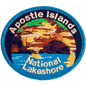 Apostle Islands National Lakeshore Embroidered Patch