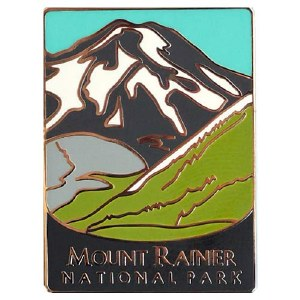 Mount Rainier National Park Pin