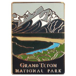 Grand Teton National Park Pin