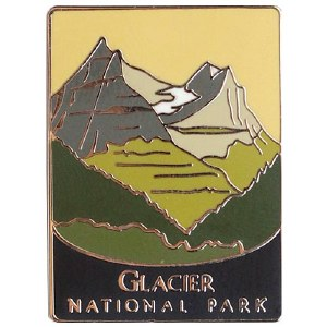 Glacier National Park Pin