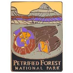 Petrified Forest National Park Pin