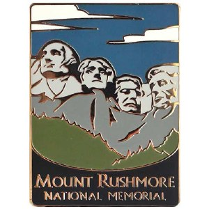 Mount Rushmore National Memorial Pin