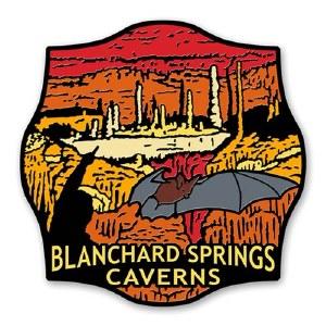 Blanchard Springs Caverns Lapel Pin
