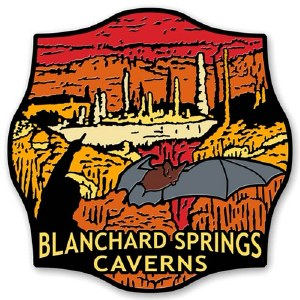 Blanchard Springs Caverns Magnet