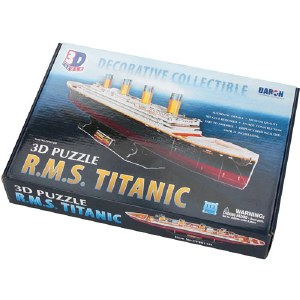 R.M.S Titanic Decorative Collectible 3D Puzzle