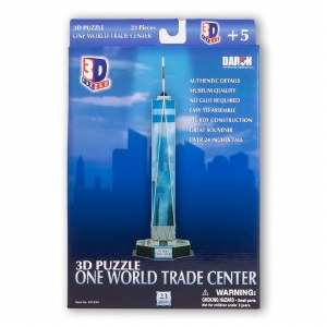 One World Trade Center 3D Puzzle