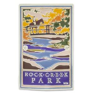 Rock Creek Park Hiking Stick Medallion