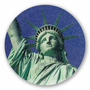 Round Statue Of Liberty Puzzle