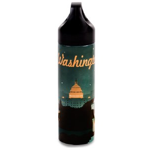 Washington DC Retro Water Bottle