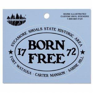 Born Free Decal