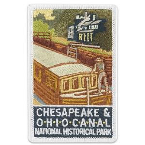 Chesapeake & Ohio Canal Logo Patch