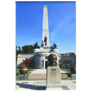 Lincoln Tomb Magnet