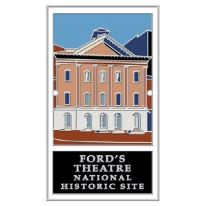 Ford's Theatre National Historic Site Hiking Stick Medallion