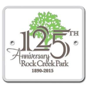 Rock Creek Park 125th Anniversary Hiking Medallion