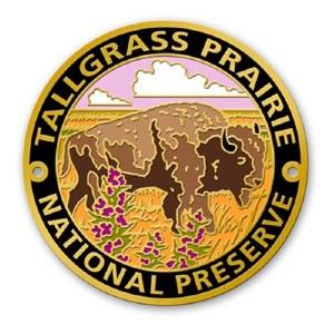 Tallgrass Prairie National Preserve Hiking Stick Medallion