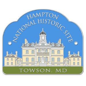 Hampton National Historic Site Hiking Stick Medallion