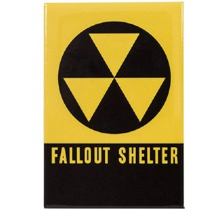 Fallout Shelter Magnet