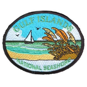 Gulf Islands National Seashore Embroidered Patch