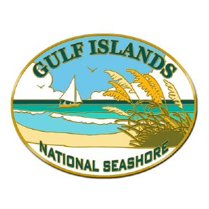 Gulf Islands National Seashore Collectible Lapel Pin