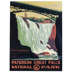 Paterson Great Falls National Park Poster