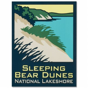 Sleeping Bear Dunes Decal