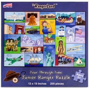 Tour Through Time Junior Ranger Puzzle