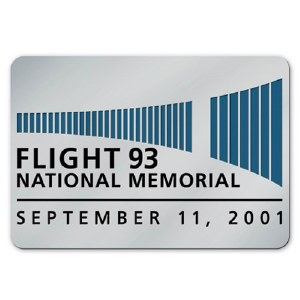 Flight 93 National Memorial Logo Collectible Lapel Pin