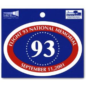 Flight 93 National Memorial Decal