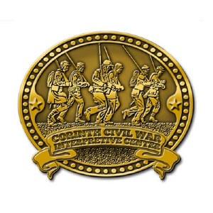 Corinth Civil War Interpretive Center Collectible Lapel Pin