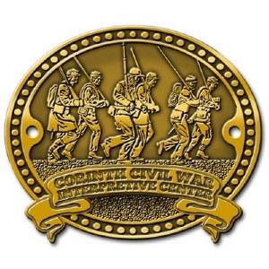 Corinth Civil War Interpretive Center Hiking Stick Medallion