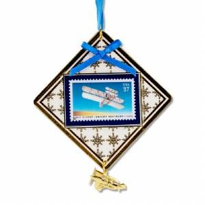 First Flight Commemorative Centennial Stamp Ornament