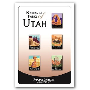 National Parks of Utah Pins - Special Edition Collector Set