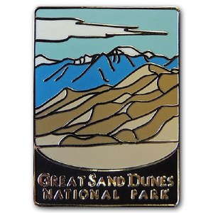 Great Sand Dunes National Park Pin