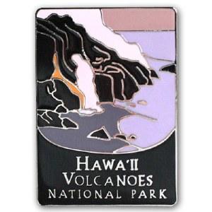 Hawaii Volcanoes National Park Pin