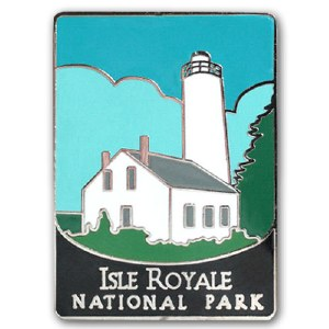 Isle Royale National Park Pin