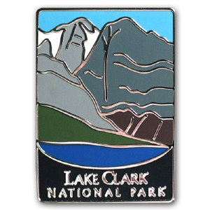 Lake Clark National Park Pin