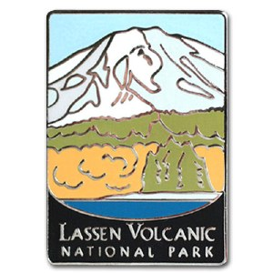 Lassen Volcanic National Park Pin