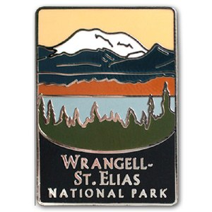 Wrangell St.-Elias National Park Pin