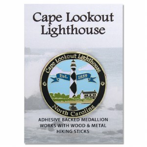 Cape Lookout Lighthouse Hiking Medallion