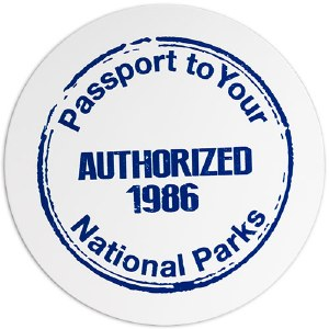 Passport to Your National Parks Decal