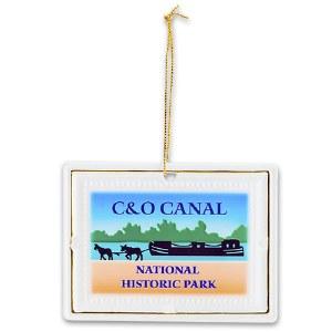 C&O Canal National Historic Park Porcelain Ornament