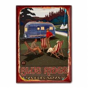 Blue Ridge Parkway Retro Magnet
