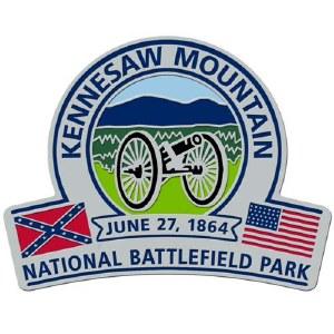 Kennesaw Mountain National Battlefield Park Lapel Pin
