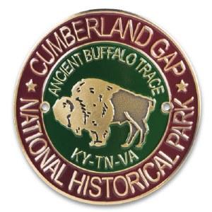 Cumberland Gap National Historic Park Hiking Stick Medallion