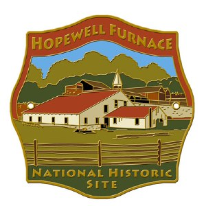 Hopewell Furnace National Historic Site Hiking Stick Medallion